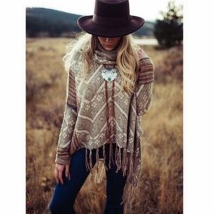 Free People Montana Bolo Necklace